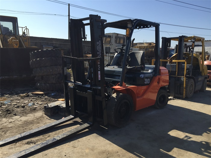 High Quality Toyota Forklift Used FD30 3 Ton Forklift Truck For Sale