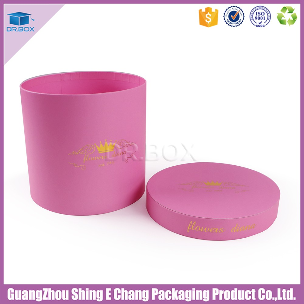 Beautiful Lid And Base Box Style Flower Hat Box,Rose Box For ...