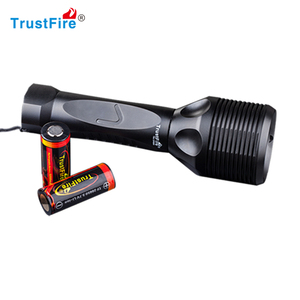 C ree XM-L2 Led Scuba Diving Flashlight Torch Underwater 100M Waterproof Submarine Light Rechargeable Battery and Charger