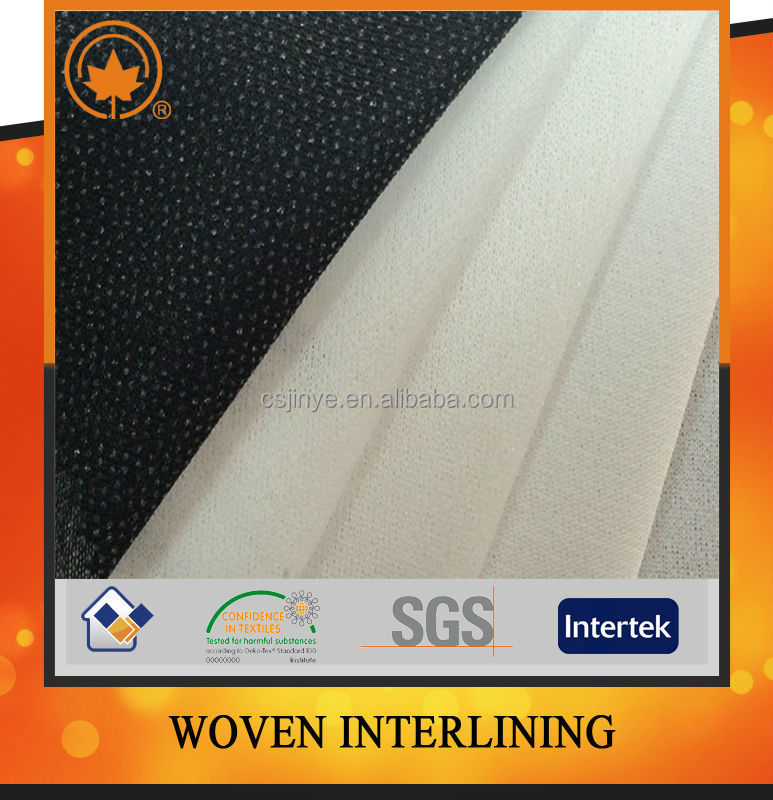 Polyester fusing paper for men's jacket and suit
