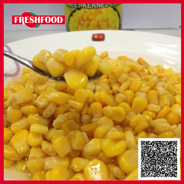 Supply quality herschel thailand green pollution-free canned yellow sweet corn kernel