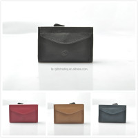 wholesale leather rfid block magic wallet with card holder