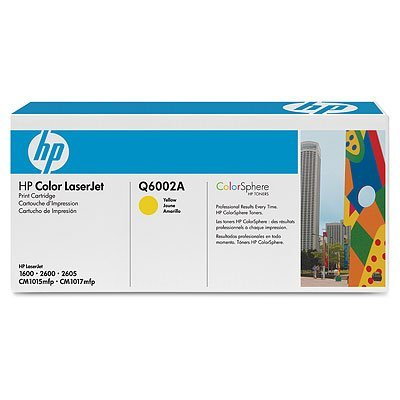 Hewlett Packard (HP) 124A OEM Laserjet: Yellow HPQ6002A