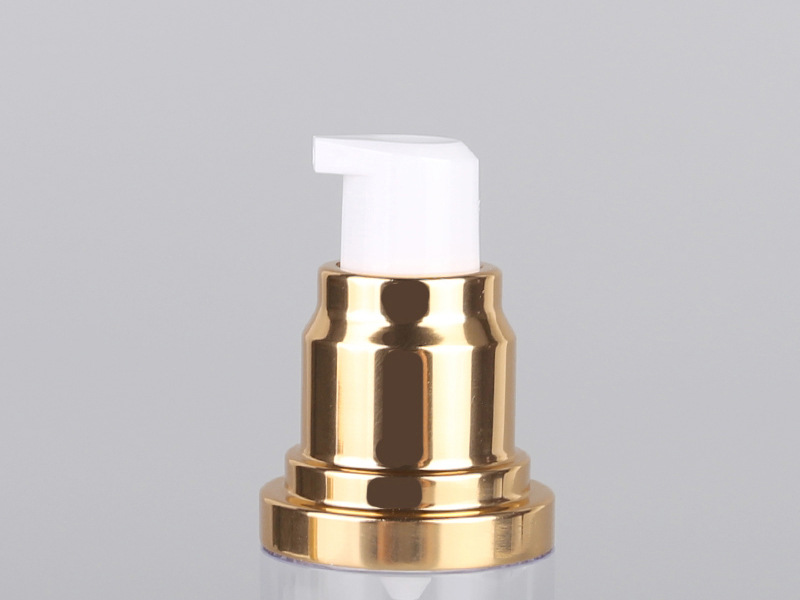 wholesale 15ml 30ml 50ml  gold/pink silver cosmetic lotion airless pump bottle in stock