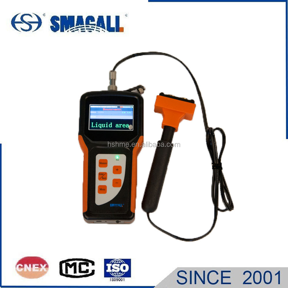 Portable Ultrasonic Auto Digital Battery Liquid Level Indicator Water Level Meter for CO2 Tank