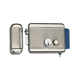 Nickel Plating 9V-12VDC Electric deadbolt Lock with Double Cylinder
