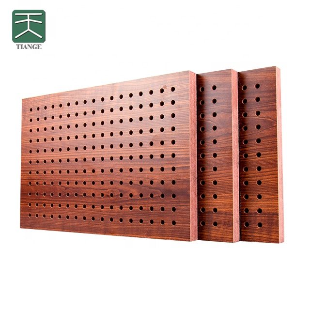 Tiange Factory Sound Insulation Ceiling Materials Fireproof Perforated Wooden Wood Acoustic Panels For Ceiling Tiles Buy Acoustic Panels Wooden
