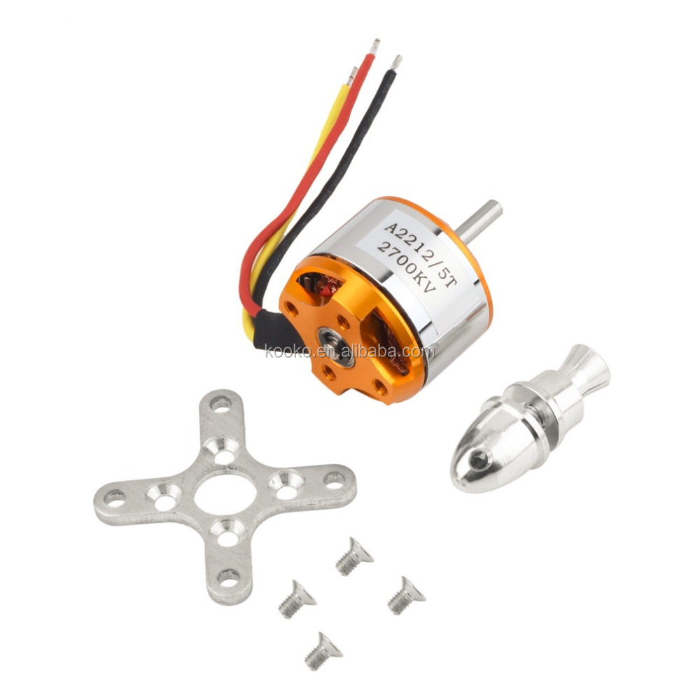 A2212 2700KV Brushless Motor For Rc Drone Aircraft