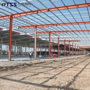 ISO9001 SGS High production efficiency portal frame steel structure