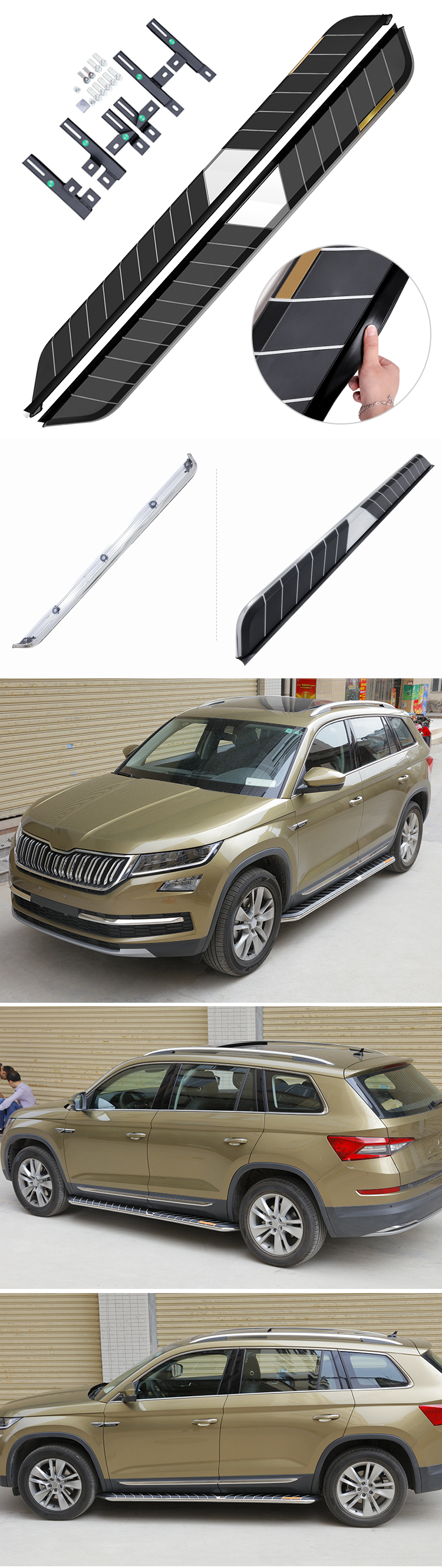Wholesale Resale Sway Running Board Used For 2019 2018 2017 Skoda Kodiaq Side Step Bar Accessories Buy Side Step Kodiaq Kodiaq Side Step Kodiaq Product On Alibaba Com
