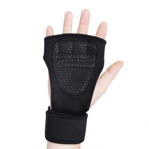 Anti slip gym custom weight lifting gloves