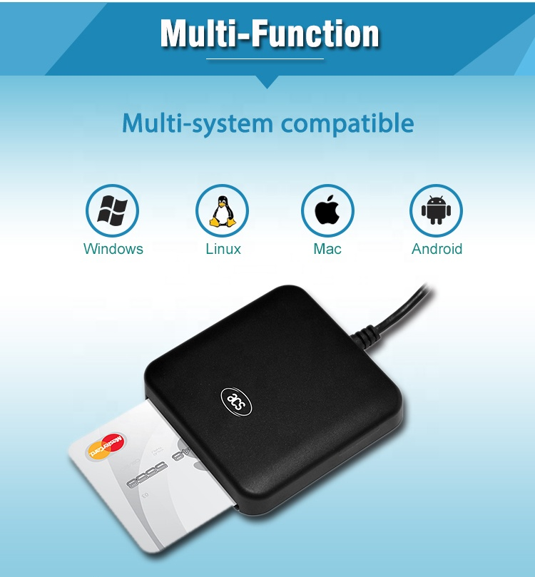 ISO 7816 USB EMV Smart Card Reader Writer ACR39U-U1