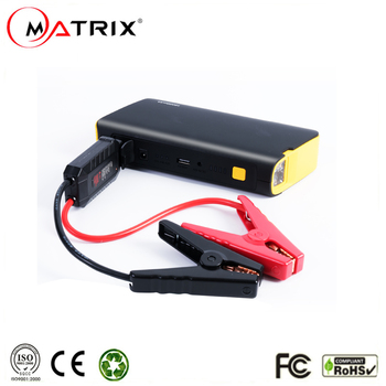 Multi-function Car Jump Starter High Capacity 12V18000mAH Power Bank Solar Charge Lithium Ion battery Booster 12V