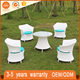 All Weather Commercial Patio Pool Rattan Wicker Coffee Table Chair Resort Outdoor Furniture