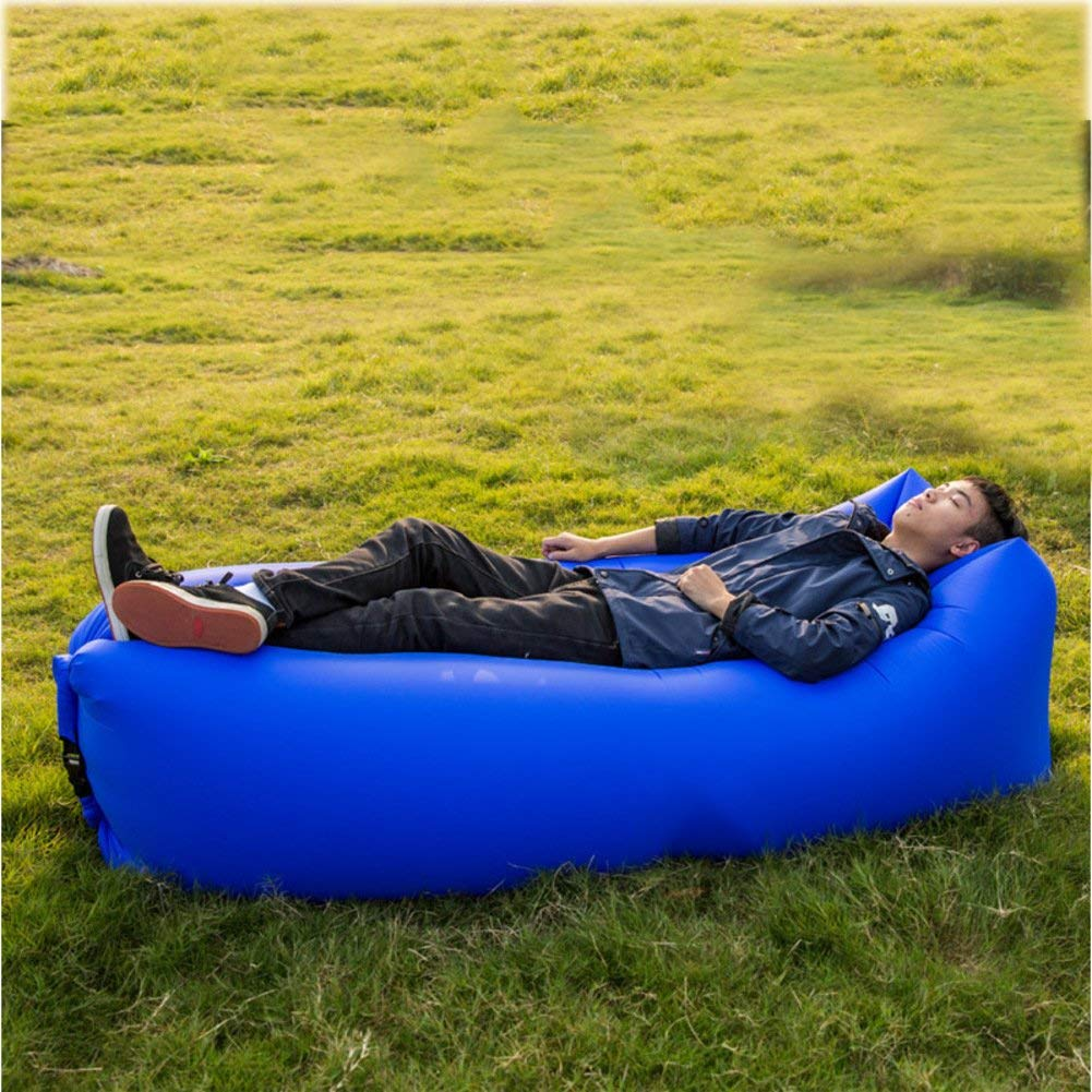 ONETWO Outdoor Waterproof Air Sofa,Portable Lightweight Against Tear Inflatable Lounger Inflatable Couch For Beach Travel