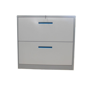 Customized Commercial equipment office use metal  2 drawers wide box  lockable tool storage file cabinet
