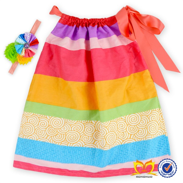 2016 Summer Dots And Flower Pattern Dress 1-6 Years Old Baby Girl ...