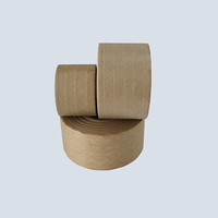 custom logo printed self adhesive kraft paper packing tape