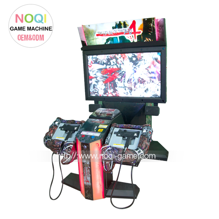 Hot Sale 55 Lcd Coin Pusher The House Of Dead 4 Shooting Game