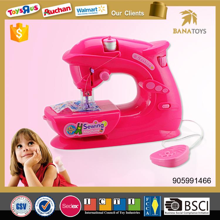 Battery Operated Mini Sewing Machine Toy To Kids