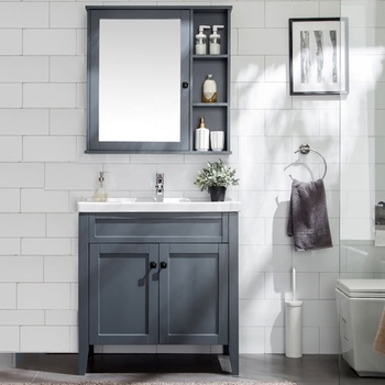 american style commercial bathroom cabinet clearance