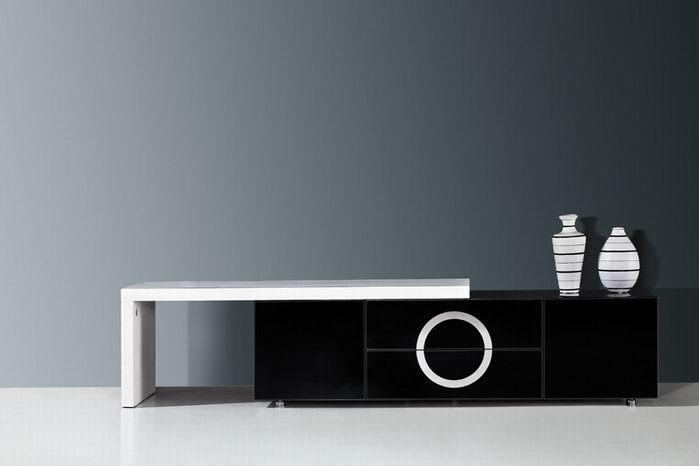Mobile Porta Tv Moderno Design. Parete Attrezzata In Design Moderno ...