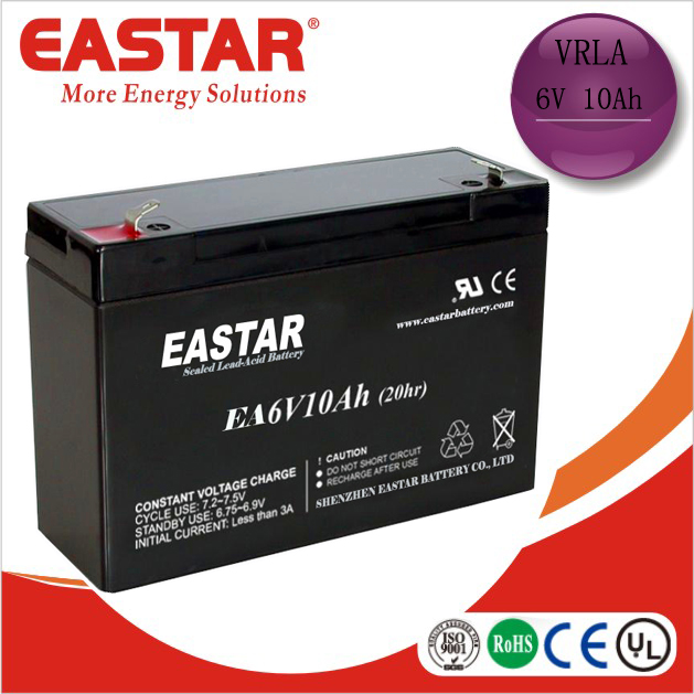 Sealed lead acid 4v 6v 12v 10ah dry batteries for ups