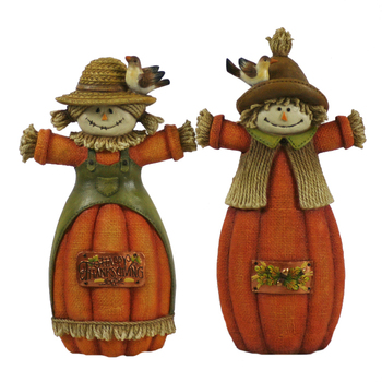 Adorable Resin Scarecrow Figurines Decorations Buy Scarecrow Decorationfall Decorationsfall Scarecrow Decorations Product On Alibabacom