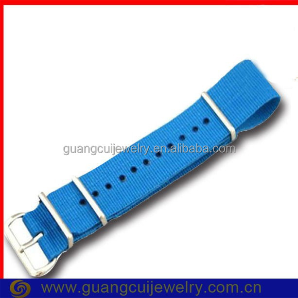 Fashion nylon strap wrist watch