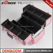 2017 China manufacturer supply OEM portable travel new fashion makeup case