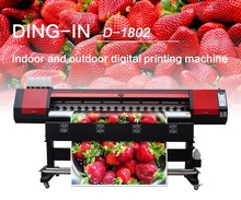 1.8m double heads digital Textile printer Sublimation D1802
