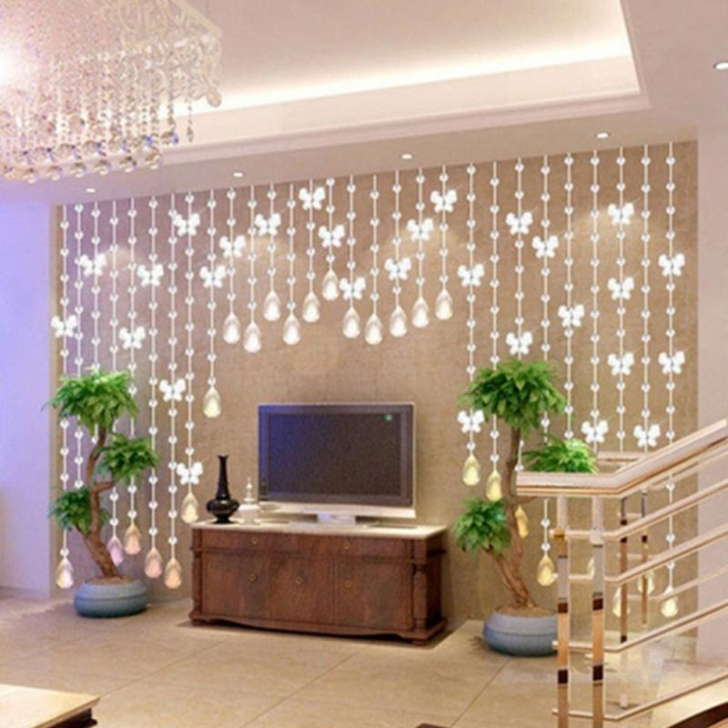 Crystal Home Decor: 2019 Elegant Waterdrop Butterfly Design Home Crystal Glass