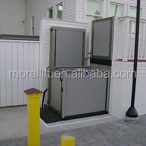 outdoor wheelchair lift elevators with CE