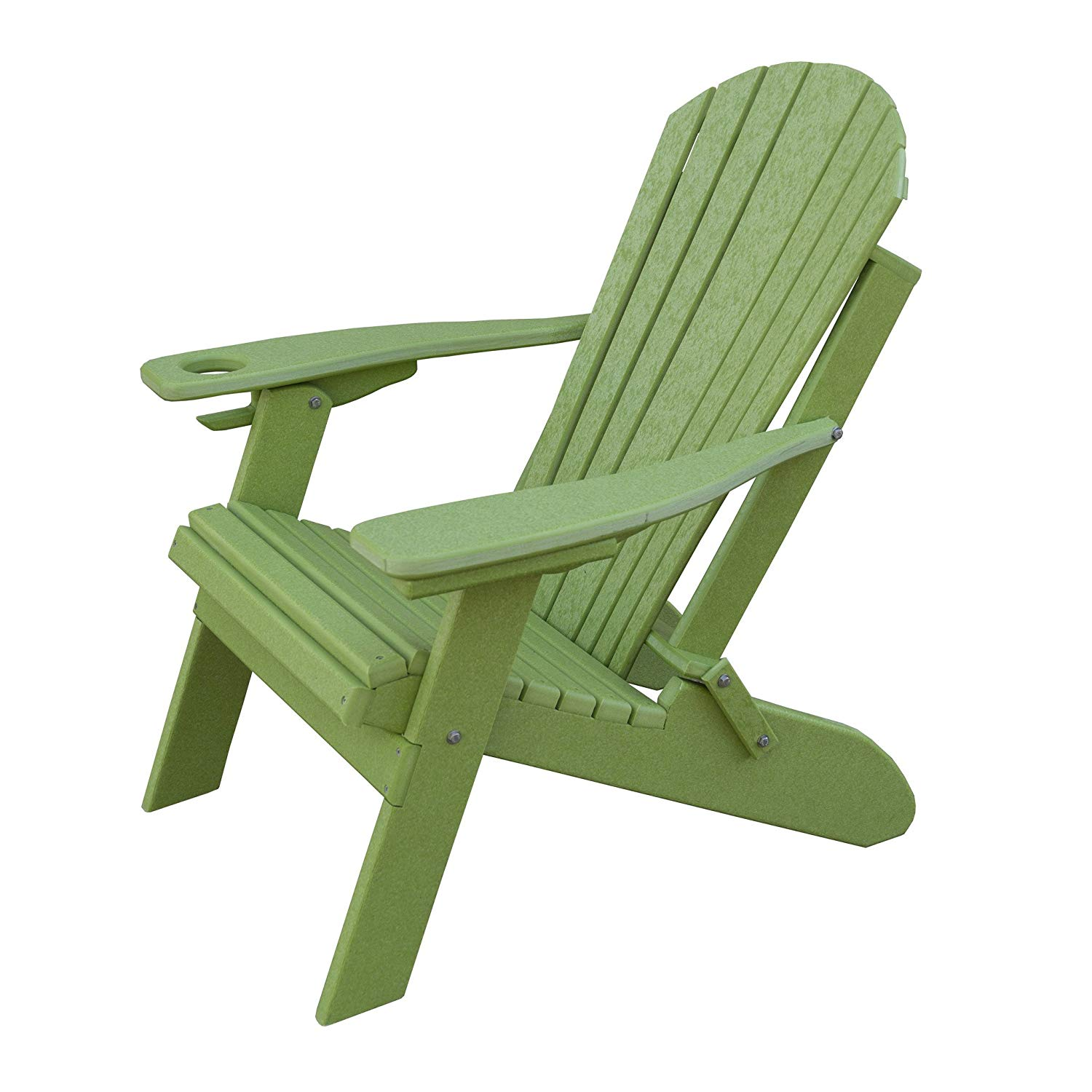 Get Quotations Furniture Barn Usa Deluxe Premium Poly Lumber Folding Adirondack Chair W Cup Holder Smart