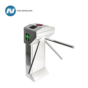 Fingerprint Time Attendance System Turnstile with Rfid Access Control Card