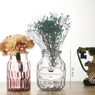 hot sale beautiful colorful glass vase wholesale