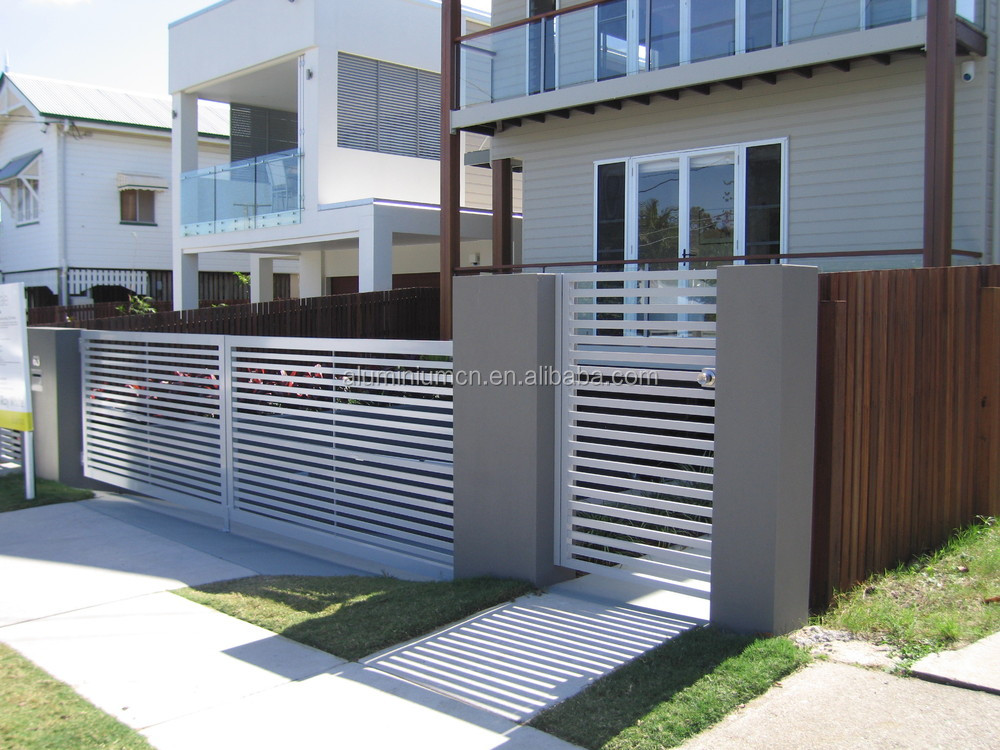 Modern gate house designs home design and style for Modern house gate designs
