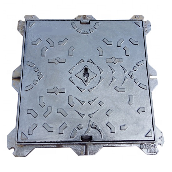 B125 piazza ghisa manhole cover for sale