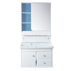 Import furniture from china pvc sliding mirrorsuspended bathroom furniture used bathroom vanity cabinets