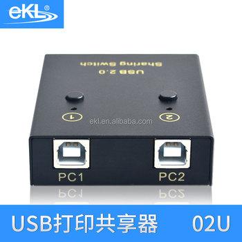 New 2 Ports USB Sharing Switch Switcher Port Usb Printer