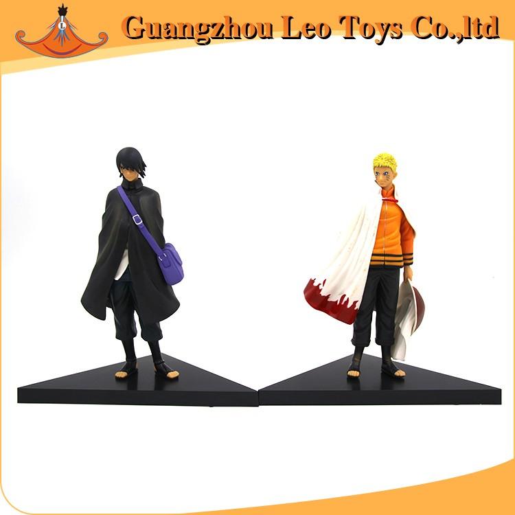 Jepang Anime Kartun Naruto Uzumaki Sasuke Mainan Plastik Gambar Foto