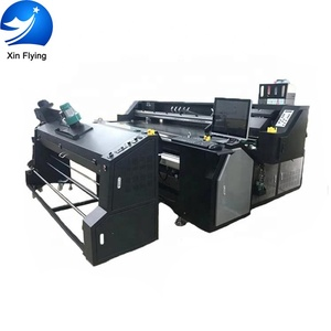 Hottest roll to roll belt textile printer direct print on fabric 4 pieces 5113 print head Direct Printer