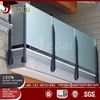Foshan manufacture 316 grade glass balcony stainless steel railing design