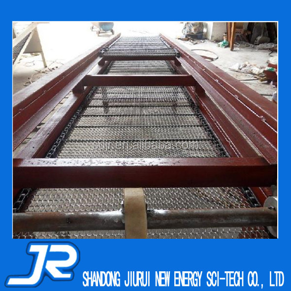2015 China high quality stainless steel wire mesh conveyor belt machine