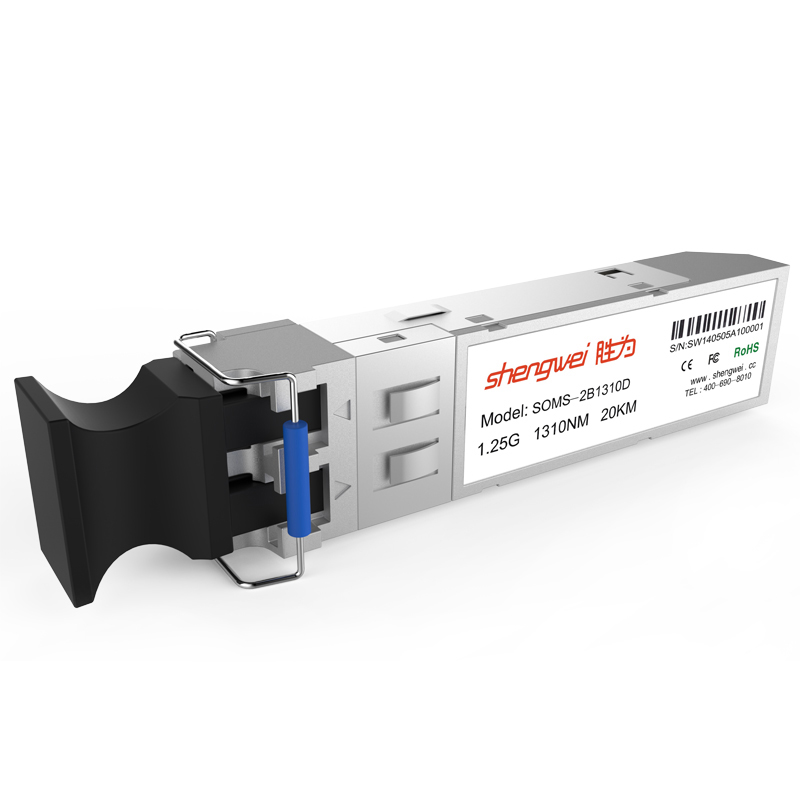 20km 1,25 Gigabit Fiber Optic Modul Empfänger Singlemode Fiber optic transceiver epon olt SFP optische modul