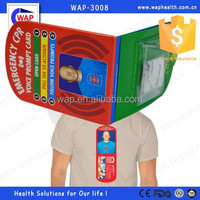 Trade Assurance WAP-health high quality Mini CPR Trainers Card for first aid
