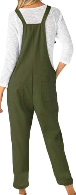 Nanquan Women Jumpsuit Romper Stylish Ripped Holes Slim Fit Denim Overalls
