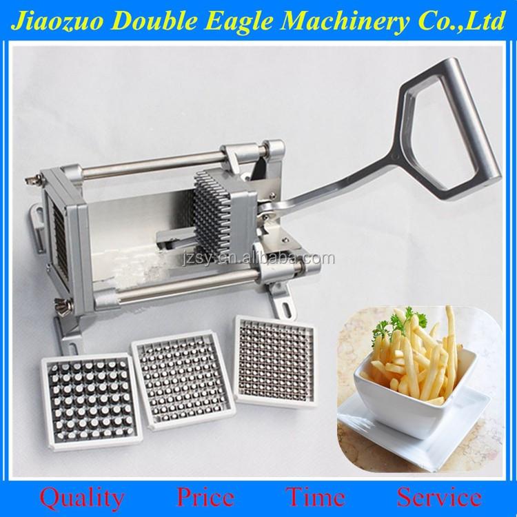18bf54a51c8 stainless steel mini potato cutting machine  hand press french fries machine