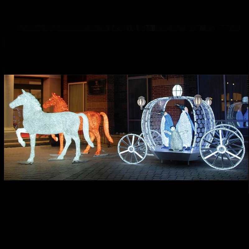 Rocking Horse Carriage Outdoor
