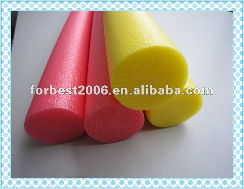 Eco-friendly Colored EPE Foam Tube Non-toxic Packing Material EPE Sponge Tube in Stock